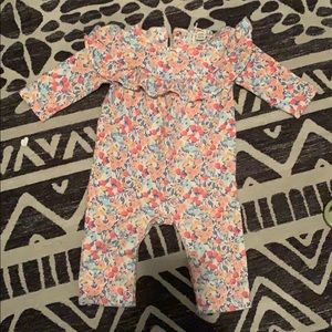 Baby girl floral one piece